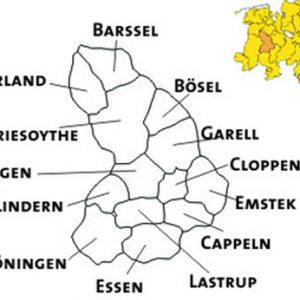 Karte der Ortsvereine