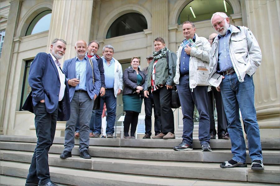 Fahrt zum neuen Nds. Landtag