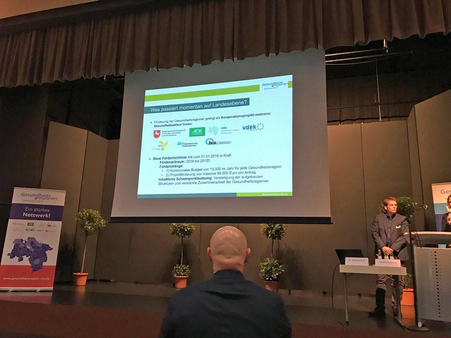 Bild von der Gesundheitskonferenz