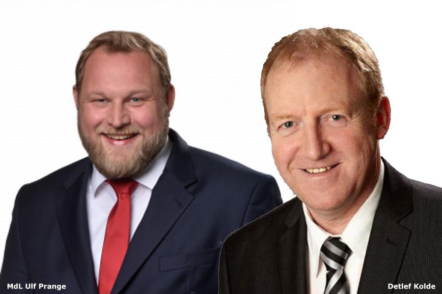 Ulf Prange und Detlef Kolde