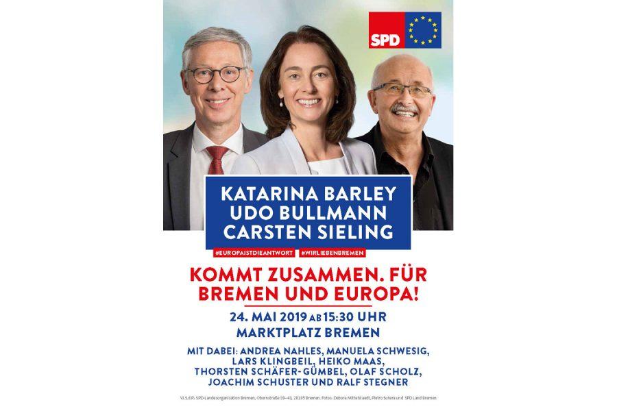 Kommt zusammen - nach Bremen