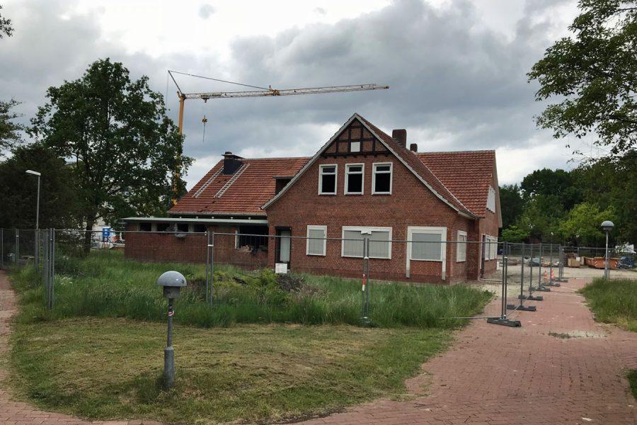 """Besichtigung der Baustelle der Landdiskothek """"Zum Sonnenstein"""""""