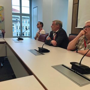 Besuch des Niedersächsischen Landtages