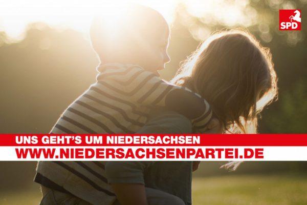 Wir sind die Niedersachsenpartei!