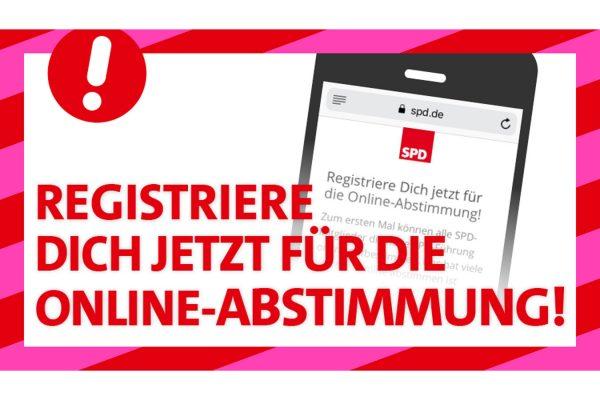 Einladung zur Online-Abstimmung