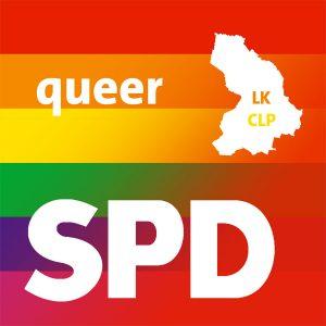Logo SPDqueer Landkreis Cloppenburg