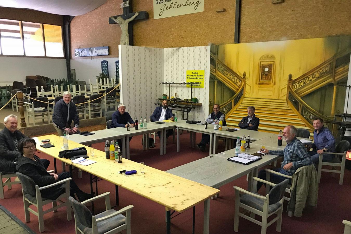 Bild von der Fraktionssitzung