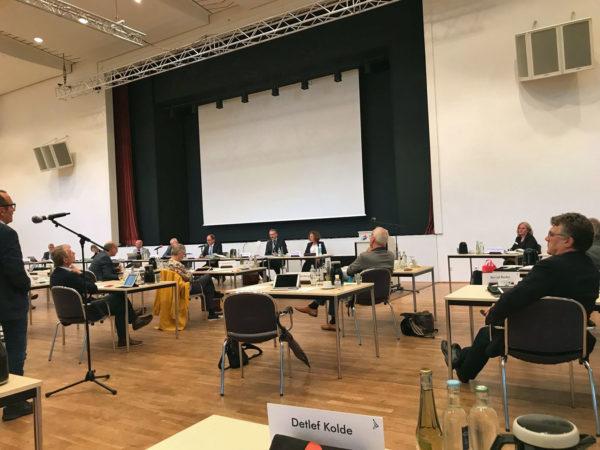 Bild von der Kreistags-Sitzung